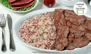 Churrascaria Baby Beef: Churrascaria Baby Beef – Taquaral: almoço e jantar (2ª a 6ª) ou almoço (sábado)com salada e prato principal para 2 ou 4