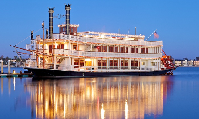 "William D. Evans Sternwheeler - Bahia Resort Hotel: St. Patrick's Day Boat Party Cruise on March 17 at 8 P.M. on the ""William D. Evans"" Sternwheeler (50% Off)"