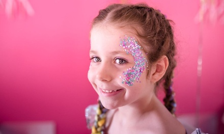 Unicorn Makeover for 1 ($59), 2 ($115) or 4 Kids ($229) at Pampered Princess, 2 Locations (Up to $396 Value)