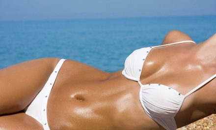 One or Three Airbrush Spray Tans at Salon Tres Ci (58% Off)