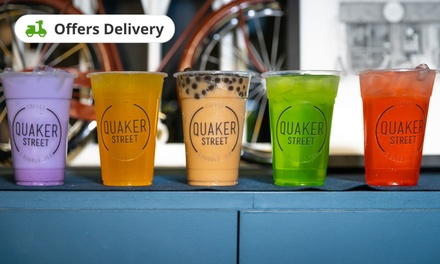 Quaker Street Coffee And Bubble Tea