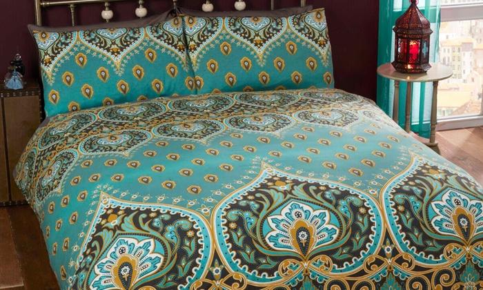 Exotic Printed Duvet Sets for £11