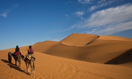 ✈ Marrakesh: 2, 3 or 4 Nights at a Choice of Hotels with Breakfast, Return Flights and Option for Camel Caravan Tour*