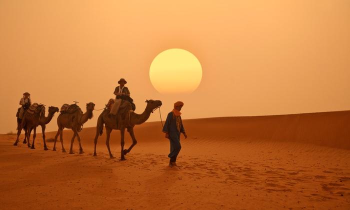 GSN Voyages - GSN Voyages: Marruecos: desde medio día hasta 4 noches de excursión por el Sur de Marruecos para 1 pers, con transporte en minibus