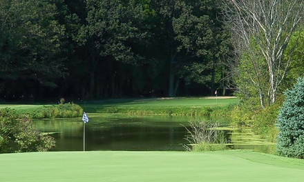 18-Hole Round of Golf Including Cart Rental at Deer Run Golf Club (Up to 49% Off). Four Options Available.