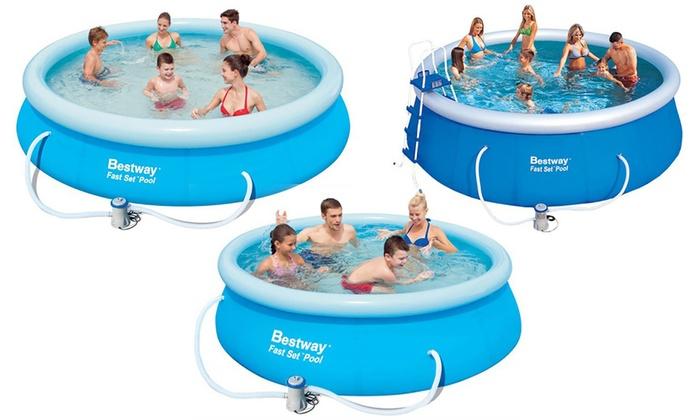 Piscina hinchable bestway groupon - Mantenimiento piscina hinchable ...
