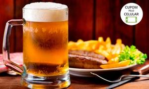 Baião Plus: Baião Plus – Santa Amélia: 1 chapa mista + 1 cerveja de 600 ml  (de domingo a quinta)