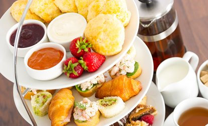 image for Choice of Afternoon Tea with Optional Prosecco for Two or Four at Stuarts Restaurant at The Lovat (Up to 45% Off)