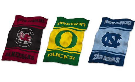 NCAA 84'' X 54'' Ultrasoft Blanket