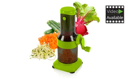 Tower 2-in-1 Spiralizer and Grater