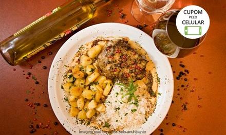 La Chaumière   Asa Sul: steak au poivre ou filet roquefort + batata sautée + arroz para 1, 2 ou 4 pessoas