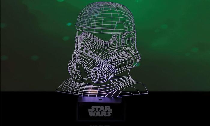Star De Lampe 3d Led Wars Stormtrooper 76gIfYvby