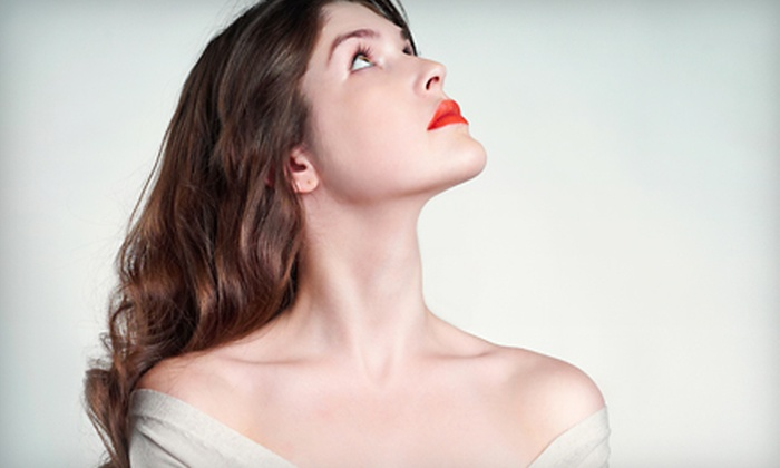 Aura Laser Skin Care - Multiple Locations: SmartXide DOT Fractional CO2 Laser Therapy for the Neck, Face, or Both at Aura Laser Skin Care (Up to 76% Off)