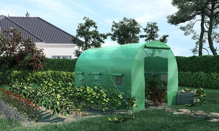 jusqu 39 67 serre de jardin groupon. Black Bedroom Furniture Sets. Home Design Ideas