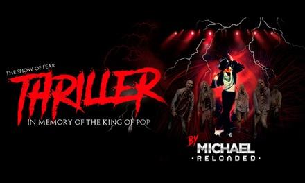 """1 entrada a """"THRILLER"""". In memory of the King of Pop- Grada en La Cubierta de Leganés por 8,95 € con Senda Producciones"""