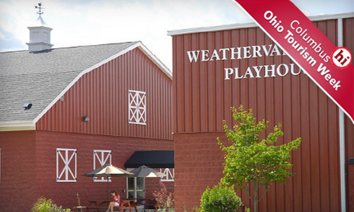 $15 to See a Play or Musical at Weathervane Playhouse in Newark ($30 Value). Six Options Available.