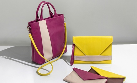 Custom Handbags from Laudi Vidni (Up to 50% Off). Three Options Available.