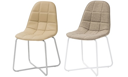 Set 4 sgabelli o 6 sedie alaska con struttura in metacrilato