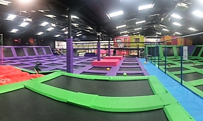 High Altitude Norwich >> Trampoline Park Access - High Altitude | Groupon