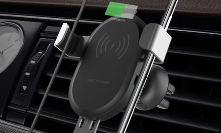 1 o 2 cargadores wireless con soporte para coche