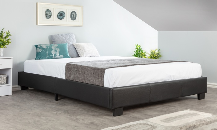 Attic Studio Bed Frame with Optional Mattress