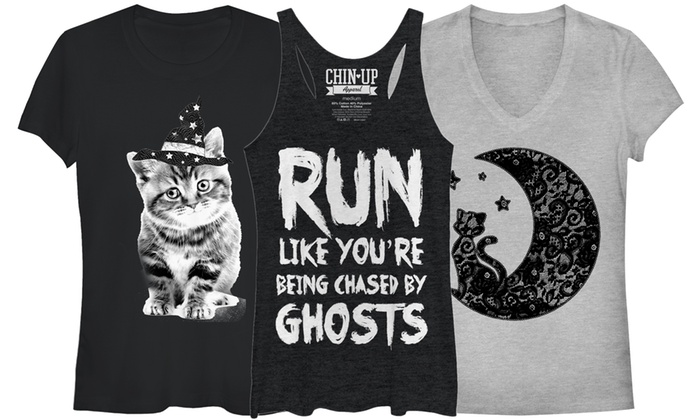 Juniors Halloween Tanks and Tees
