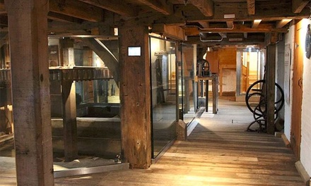 Mill Museum Entry for Two Adults or Family of Five to Eling Tide Mill Experience