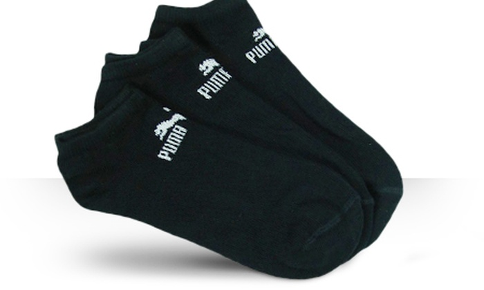 12 paar puma sneaker socken groupon goods. Black Bedroom Furniture Sets. Home Design Ideas