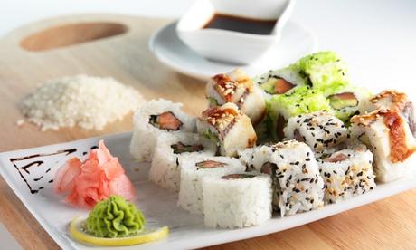Menú japonés para 2 o 4 con entrante, piezas de sushi y bebida desde 19,95 € en Hayama Sushi & Ramen