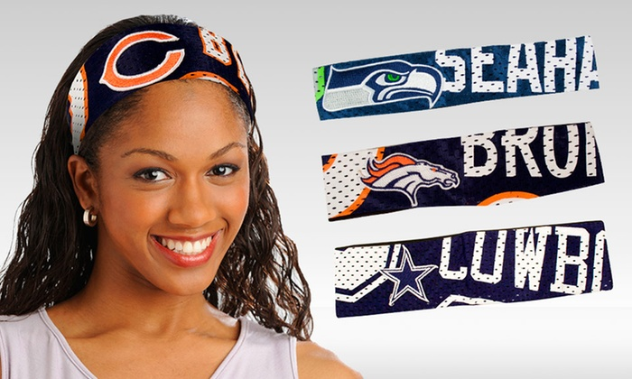 NFL Headband 2-Pack: $12.99 for an NFL Headband 2-Pack ($36.82 List Price). Multiple Options Available. Free Returns.