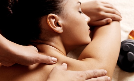 Two 60-Minute Relaxation Massages or Two Shellac Manicures at Renewal Day Spa (Up to 50% Off)