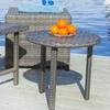 Laguna Outdoor Wicker Table Set (3-Piece)