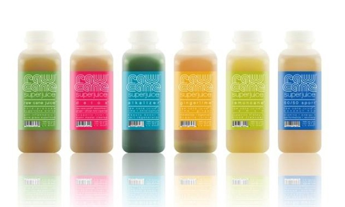 """Raw Cane Superjuice - Hollywood: Five- or Seven-Day """"Detox Elixir"""" Juice Cleanse from Raw Cane Superjuice (51% Off)"""