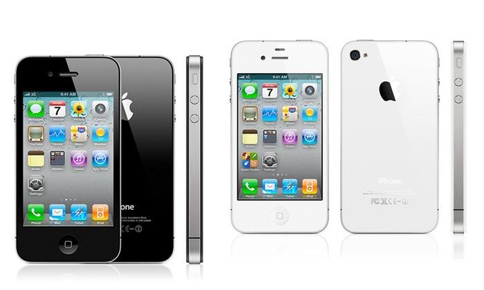 apple iphone 4s jusqu 39 64 go groupon. Black Bedroom Furniture Sets. Home Design Ideas