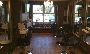 Lords and Rocco: Haircut with Hot Towel Shave or Beard Trim at Lords and Rocco (Up to 73% Off)