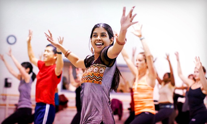 Bollywood Groove - Multiple Locations: Four or Eight Bollywood Groove Cardio-Dance Classes at Bollywood Groove (Up to 51% Off)