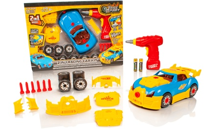 Take Apart TwoinOne Toy Race Car Kit