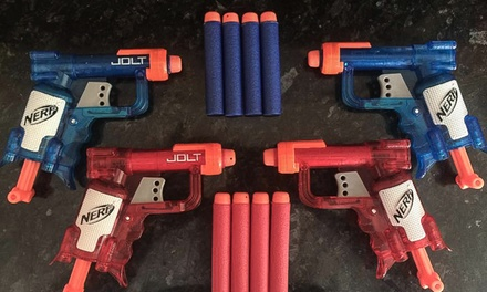 OneHour Nerf Session for Up to Four at Nerf Centre Stockport