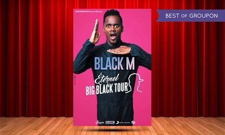 1 place en catégorie 4 debout ou 1 pour Black M, les 8 et 9 avril 2017 dès 17 € à Bordeaux et Limoges