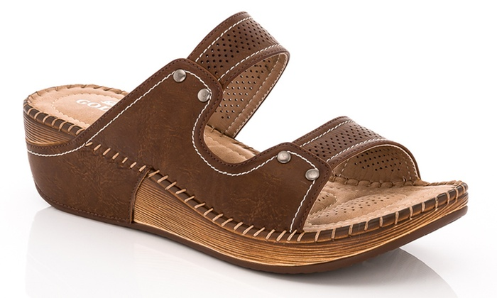 d20f4a201 Lady Godiva Women s Arch Support Comfort Sandals. (Size 7.5). Lady Godiva  Women s Wedges