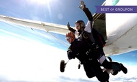 7,500 or 10,000ft Tandem Skydiving Experience at Skydive Academy