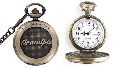 Dad or Grandad Pocket Watch