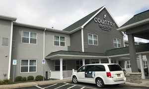 Comfortable Suites in Ithaca at Country Inn & Suites By Carlson, Ithaca, NY, plus 6.0% Cash Back from Ebates.