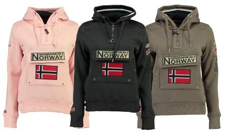 Felpa da donna Geographical Norway disponibile in 5 taglie e vari colori