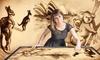 Sand-Malerei-Show nach Wahl