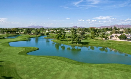 18 Holes of Golf with GPS and Range Balls for Two or Four at Superstition Springs Golf Club (Up to 52% Off)