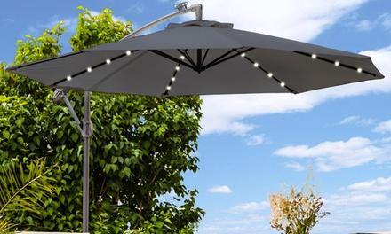 led parasol groupon