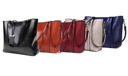 Set di 3 borse Miss Lulu disponibili in 2 modelli e vari colori