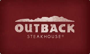 $25 Outback Steakhouse Gift Card