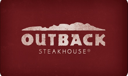 groupon.com - $50 eGift Card to Outback Steakhouse ($5 Off)